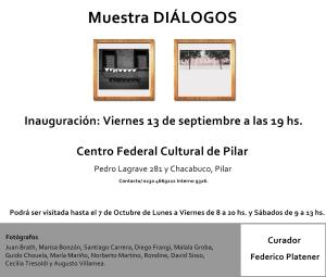Muestra Diálogos